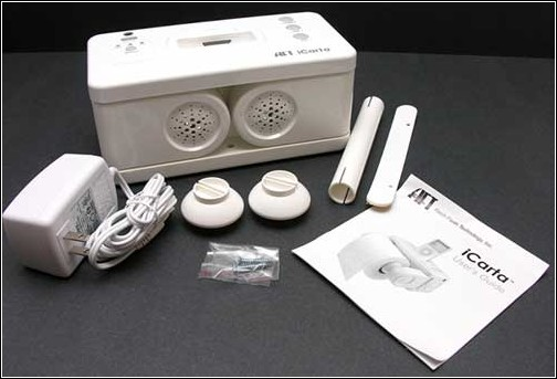 iCarta+ Toilet Roll Holder в разобранном виде.