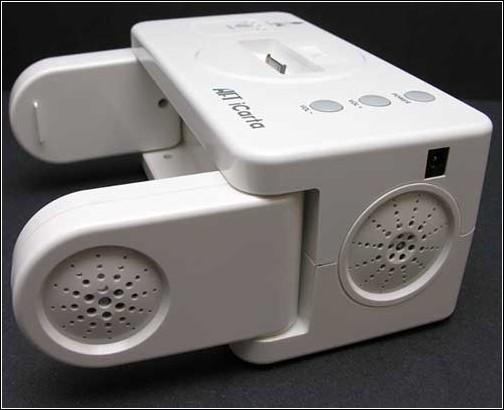 iCarta+  Toilet Roll Holder в разложенном состоянии.