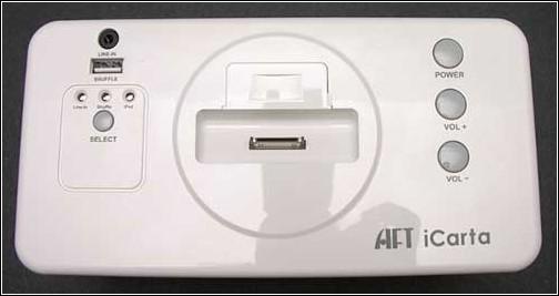 iCarta+  Toilet Roll Holder – вид сверху.