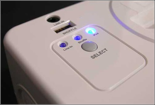 iCarta+  Toilet Roll Holder - вид на пульт управления.