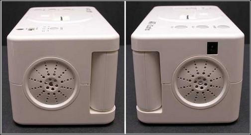 iCarta+ Toilet Roll Holder - вид сбоку.