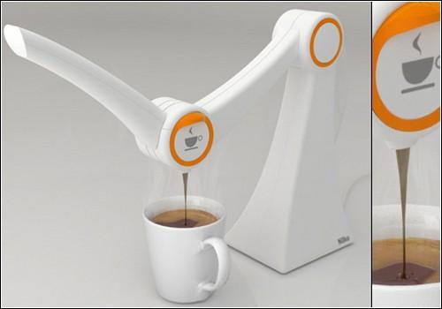 Концептуальная кофеварка Nilko IMO.