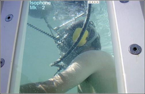 Isophone – телефон, изолирующий от окружающего мира.