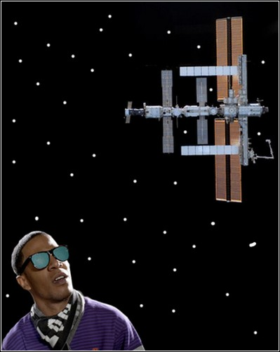 Ярче МКС будет только Луна.
