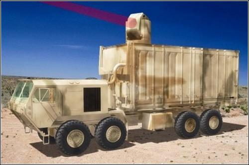 Новый американский боевой лазер.