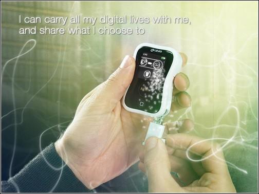 Leyio Personal Share Device - *Шаттл* отправляется за новыми данными.