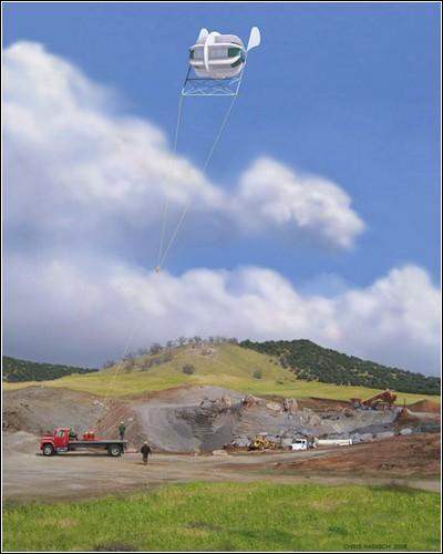 Летающий ветряк MARS от компании Magenn.