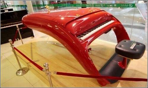 Фортепиано а-ля Феррари.