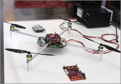 Летающий WiFi-робот от немецких ученых.