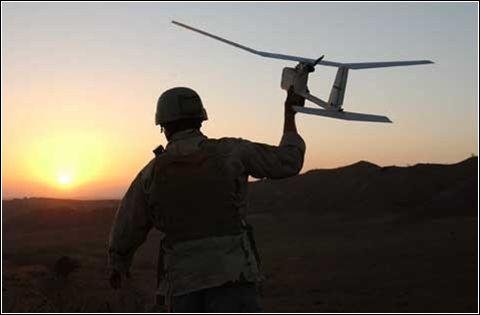 Беспилотный летательный аппарат Raven.