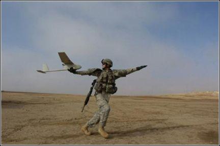 Беспилотные разведывательные аппараты активно использовались американцами в Ираке.