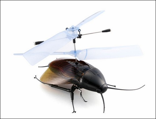 Японский таракан-вертолет.