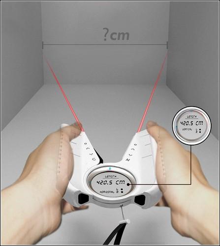 Высокая точность измерений возможна даже с довольно удаленного расстояния.