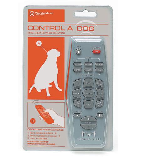 Пульт дистанционного управления собакой.