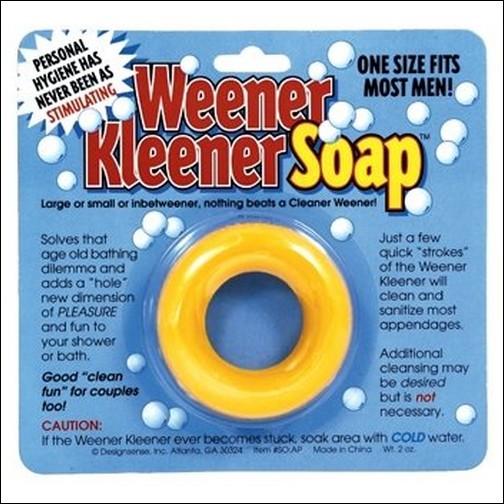 Weener Kleener Soap - Мойтесь с удовольствием!