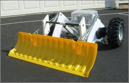 Снегоуборочный робот I-Shovel.