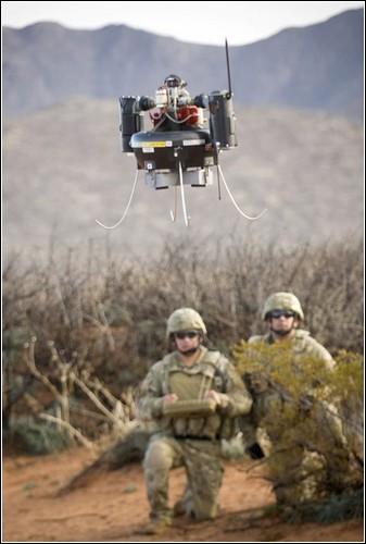 Американский разведывательный робот Honeywell Class I MAV.