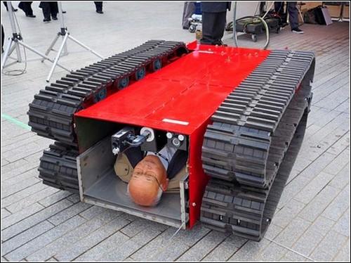Робот-пожарный из Иокогамы.