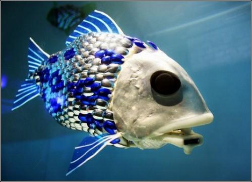 Рыба-робот – анализатор воды.
