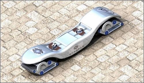 Скейт-внедорожник Scarpar Powerboard.