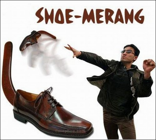 Shoe-merang – надежное оружие в острой дискуссии.