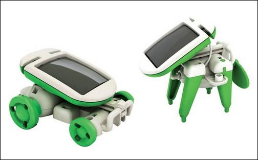 Игрушки на солнечных батареях.