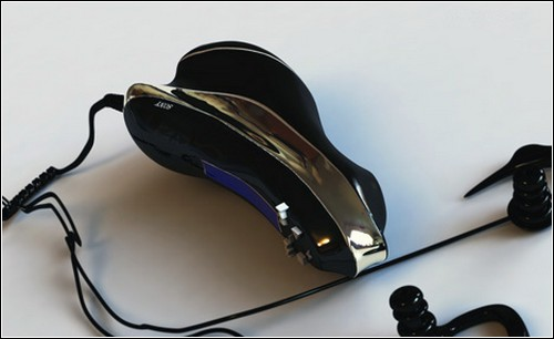 Удобный MP3-плейер от Sony.