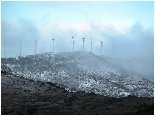 Испанская ветряная энергетика.