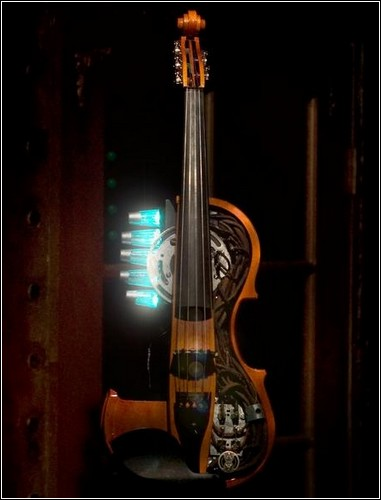 Nathans Amberic Array Violin.