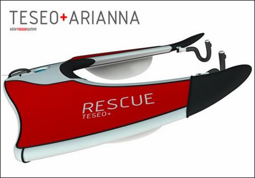 Экологичная спасательная станция Teseo+Arianna.