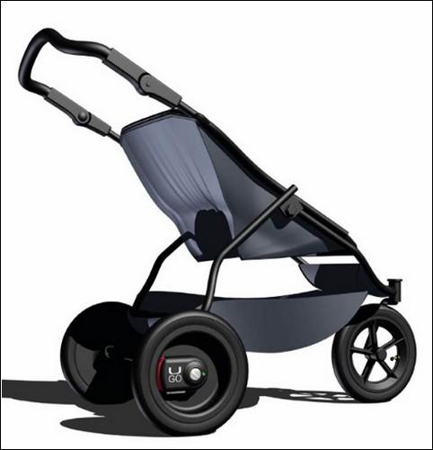 безопасная детская коляска