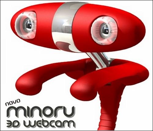 3D-веб-камера Minoru.