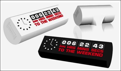 Часы обратного отсчета Weekend Clock.