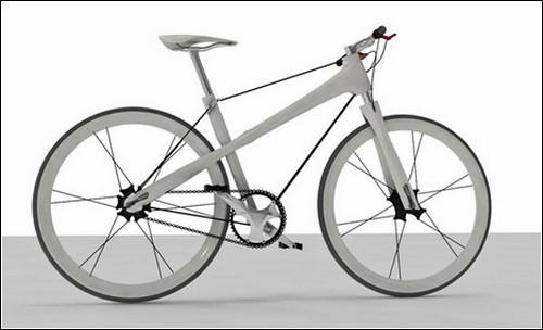 Wire Bike – велосипед на ниточке.