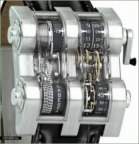 Часы Cabestan - очень дорогие и очень непростые