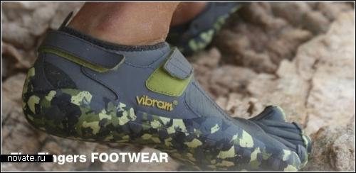 Кроссовки FiveFingers для любителей босоногих прогулок