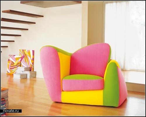 Детская мебель Baby Collection от компании Adrenalina