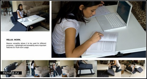 Матрас Basso Floor Mat, заменяющий собой всю домашнюю мебель