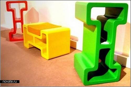 Модульная мебель Bodybi, способная стать полкой, шкафом и диваном