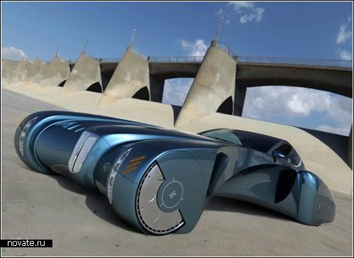 Фантастический концептуальный автомобиль Bugatti Stratos