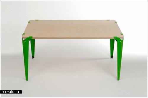 Clamped table. Проект Райана Соррелла (Ryan Sorrell)