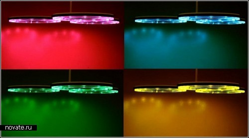 Color Therapy Lamp. Лампа, формирующая настроение