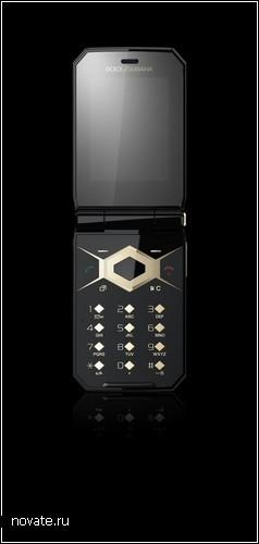 Телефон-*раскладушка* Jalou от Sony Ericsson. Проект Dolce&Gabbana edition
