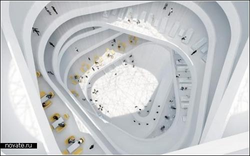 Helix Hotel в Абу-Даби. Проект спиральной гостиницы