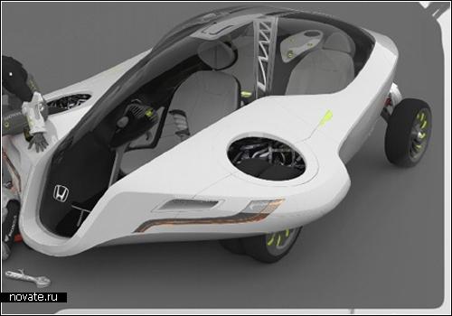 Автомобиль-самолет будущего Honda Fuzo