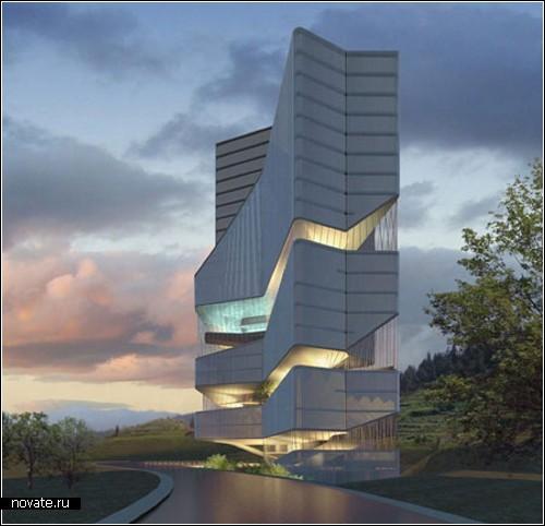 Международный проект футуристического центра HuaXi в Китае