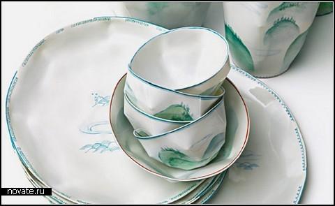 Керамическая *бумажная* посуда Lightscape
