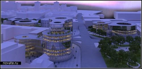 Проект *правительственного городка* в Любляне