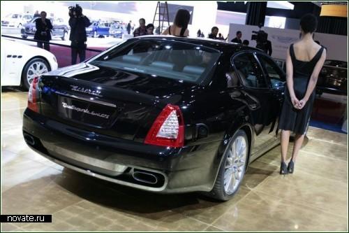 Maserati Quattroporte Sport. Итальянская новинка Детройтского автосалона