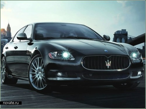 Maserati Quattroporte фото-обзор